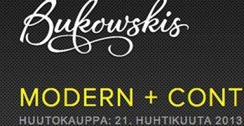 Bukowskin modern + contemporary -huutokauppa 21.4.2013
